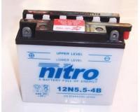 Baterie NITRO 12N5.5-4B na motorku