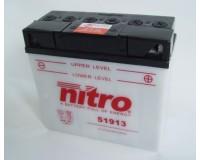 Baterie NITRO 51913 na motorku