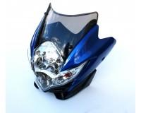 Přední světlo s blinkry Suzuki II na motorku