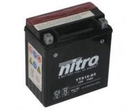 Baterie NITRO YTX16-BS na motorku