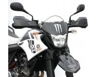 Chrániče páček na motorku YAMAHA XT 660 X/R, styl DAKAR