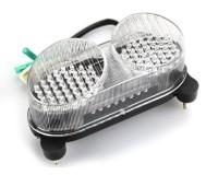 KAWASAKI NINJA ZZR600 / ZR7 00 - 08 ZADNÍ LED SVĚTLO - čiré