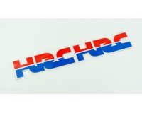 Samolepka HRC Honda racing, 3M