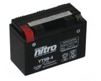 Baterie Nitro YT9B-4 na motorku