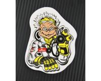 Samolepka Valentino Rossi, Doktor.
