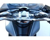 Řidítka Honda PCX 125  Chromové.