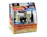 Žárovka H4 Hyper Led 6500 k. P43t.