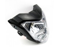 Přední světlo FZ na motorku.