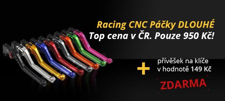 Racing CNC Páčky DLOUHÉ