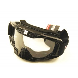 Motokrosové brýle na motorku, černé MX2