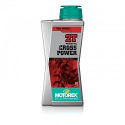 Dvoutaktní olej Motorex Cross Power 2T, 1l.