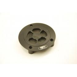 Víčko nádrže Yamaha YZF R1, R6 98-08, černé, PP Tuning