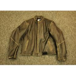 Kožená bunda Retro styl, značky D Fakto, vel. M
