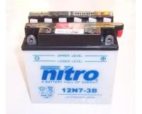 Baterie NITRO-12N7-3B stejná jako YB7L-B na motorku