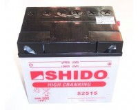 Baterie SHIDO 52515S  na motorku