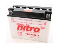 Baterie NITRO Y50-N18L-A na motoku