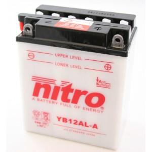 Baterie NITRO YB12AL-A na motorku