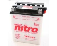 Baterie NITRO YB14-B2 na motorku