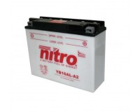Baterie NITRO YB16AL-A2 na motorku