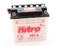 Baterie NITRO YB7-A na motorku