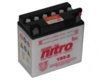 Baterie NITRO YB9-B na motorku