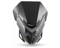 Přední street maska Alien na motorku