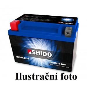 Baterie SHIDO LITHIUM YT14BBS-L na motorku