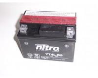 Baterie NITRO YT4L-BS na motorku