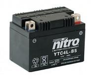 Baterie NITRO YTC4L-BS na motorku