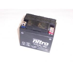 Baterie NITRO YTC5L-BS náhrada za YTZ6S !!! na motorku