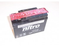 Baterie NITRO YTR4A-BS na motorku