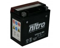 Baterie NITRO YTX14-BS na motorku