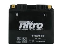 Baterie NITRO YTX20BS na motorku