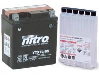 Baterie NITRO YTX7L-BS na motorku