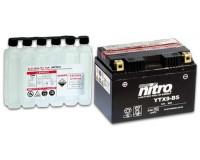 Baterie NITRO YTX9-BS na motorku