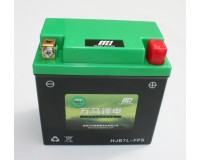 Lithiová baterie 12N7-3A na motorku.