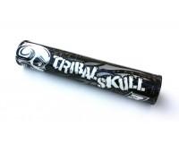 Chránič hrazdy na řidítka TRIBAL SKULL - Black