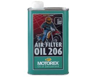 Motorex Air filter oil 206, 1l, olej na vzduchový filtr na motorku.