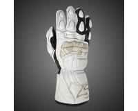 Moto rukavice 4SR SG Lady White
