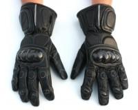 Kožené rukavice na motorku GENEZE CARBON