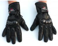 Kožené rukavice na motorku FOR BIKERS