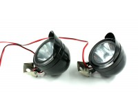 Přídavné LED světla na motorku 12V.