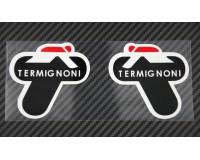 Samolepka Termignoni Exhaust 3M-černá