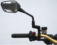 Zozšíření zrcátek o 40 mm, závit M8, pravý, na motorku.