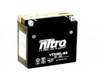 Baterie na motorku, YTX20L-BS