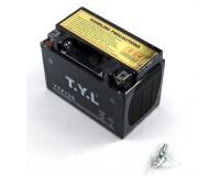 Baterie YTZ12S na motorku.