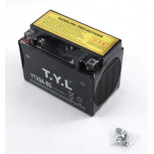 Baterie YTX9A-BS 8Ah 12V, gelová na motorku