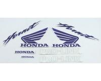 Polepy Honda CB 600 F Hornet, modré