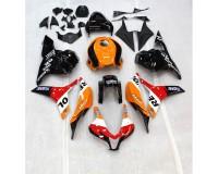 Honda CBR 600RR 2009-2012 kompletní kapoty - lakované